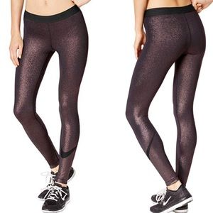 Nike pro metallic dri fit Leggings S A3